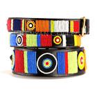 Kenyan Collection Kenyan Circle of Life Beaded Dog Collars