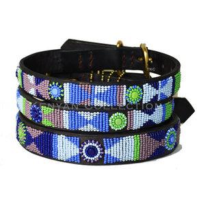 Kenyan Collection Kenyan Passion Flower Beaded Dog Collars