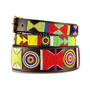 Kenyan Collection Kenyan Primary Beaded Dog Collars