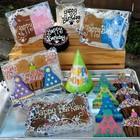 Taj Ma-Hound Bakery Taj Party Hat Birthday Treat Box