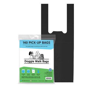 Economy Size Walk Bags blk 140ct