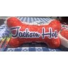 Mirage Pet Products Mirage Jackson Hole Bone Toy Red Bandana Print
