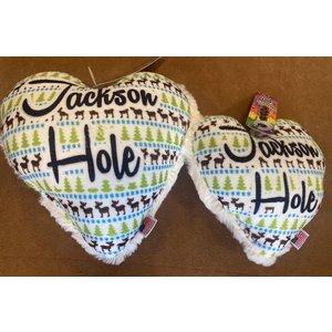 Mirage Pet Products Mirage Jackson Hole Heart Toy Moose