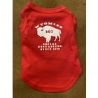Mirage Pet Products Mirage Wyoming Social Dist Dog T-shirt