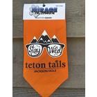 Mirage Pet Products Bandana Stay Wild Teton Tails