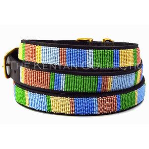 Kenyan Collection Kenyan Pastels Beaded Dog Collars