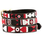 Kenyan Collection Kenyan Maasai Shield Beaded Dog Collars