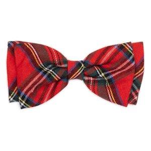 Worthy Dog Worthy Bow Tie  Plaid