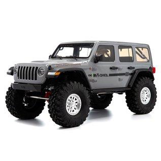 Axial 1/10 SCX10-III Jeep Wrangler JLU W/portals. Grey