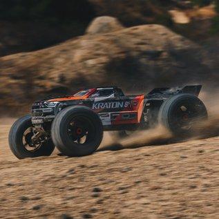 Arrma 1/5 KRATON 4WD 8S BLX Speed Monster Truck RTR: Orange