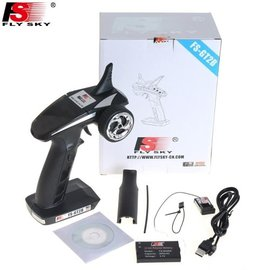 Flysky GT2B 3 channel transmitter and receiver