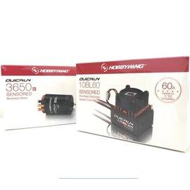 Hobbywing QUICKRUN COMBO OR10SD ESC + IR3650SD 17.5 G2 MOTOR