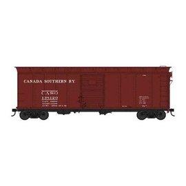 Bowser Trains HO 40' Box, Canada Southern #138141