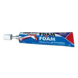 Deluxe Materials Foam 2 Foam, Foam Safe Glue 50ml: EPO, EPS, Wood