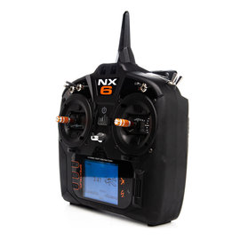 Spektrum NX6 6-Channel DSMX Transmitter Only Gen 3