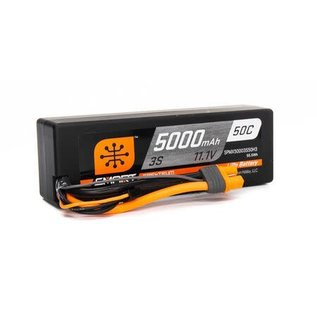 Spektrum 11.1V 5000mAh 3S 50C Smart LiPo  Hardcase; IC3