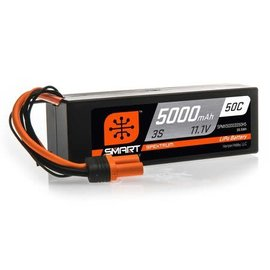 Spektrum 11.1V 5000mAh 3S 50CSmart LiPo  Hardcase; IC5