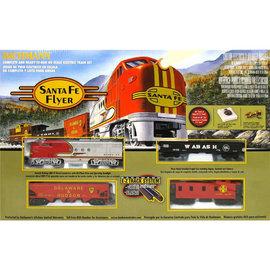 Bachmann Trains HO Santa Fe Flyer Train Set, SF