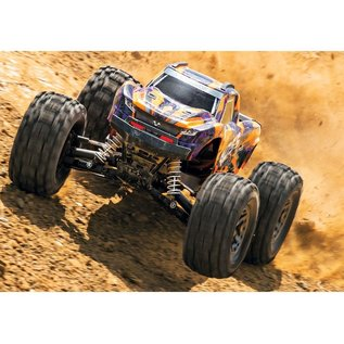 Traxxas 1/10 HOSS 4X4 VXL BL TRUCK ORANGE/PURPLE
