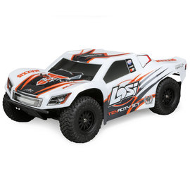 Team Losi 1/10 TENACITY 4WD SCT Brushed RTR WHT/ORG