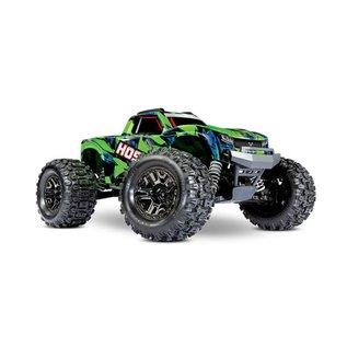 Traxxas 1/10 HOSS 4X4 VXL BL TRUCK GREEN/BLUE