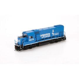 Athearn GP15-1 DCC/SND Conrail / Operation Lifesaver HO - Clearance