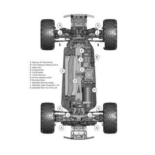 Redcat Racing 1/10 BLACKOUT XTE PRO 4x4 BRUSHLESS