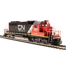 Broadway Limited SD40-2 Canadian National #6106 Web Scheme  IC DCC/SND HO - Clearance