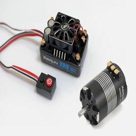 Hobbywing COMBO-XR8 SCT PRO ESC MOTOR 3652SD-D5.0-4300KV, COMBO D