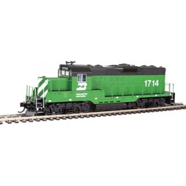Walthers Mainline GP9 PHII CHOP NOSE DCC/SND BN #1717 HO