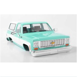 RC4WD CHEV BLAZER HARD BODY COMP. SET TEAL
