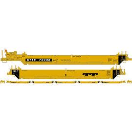 Athearn Maxiwell car I/EARTH Trailer Train HO 2
