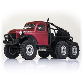FMS Model Airplane 1/18 Atlas 6x6 Rock Crawler RTR: Red