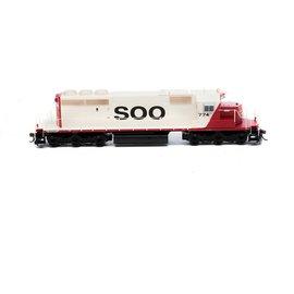 Athearn EMD SD40-2 SOO LINE DC HO