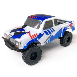 Team Associated 1/24 Enduro24 Sendero Trail Truck RTR, Red/Blue