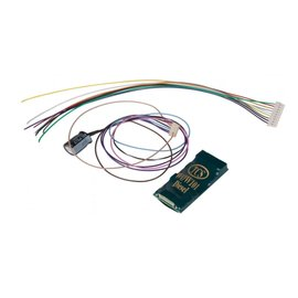 Train Control Systems EMD SND DCC DECODER 9 PIN