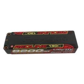 Gens Ace 7.6V 8200mah 2S 130C LIPO HV hard bullets