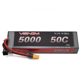 Venom Power 11.1V 5000mah 3S 50C LIPO hard Uni-plug