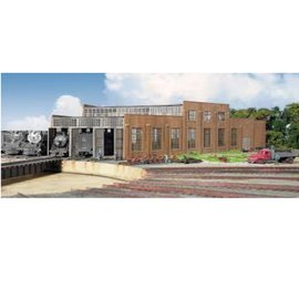 Walthers Cornerstone 3 STALL MODERN ROUNDHOUSE KIT HO