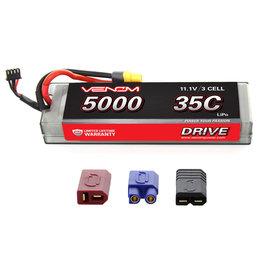 Venom Power 11.1V 5000mah 3S 35C LIPO hard Uni-plug