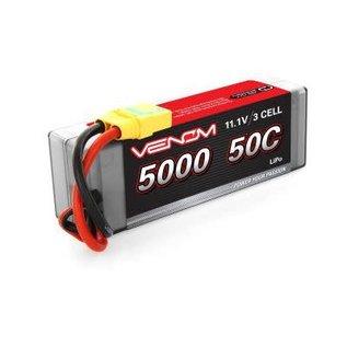 Venom Power 11.1V 5000mah 50C LIPO hard XT90 (NO ADAPTER)