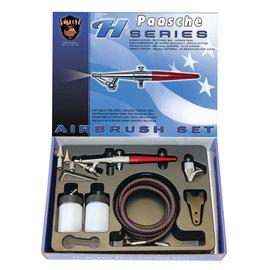 Paasche H-Series Double Action External Mix Airbrush Set