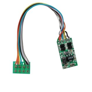 Train Control Systems 4 FUNCTION DCC DECODER