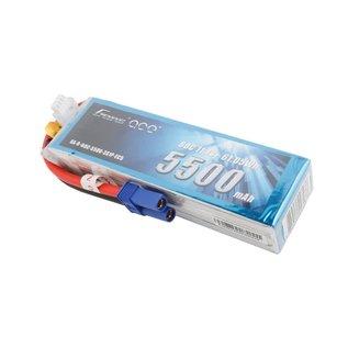 Gens Ace 11.1V 5500mah 3S 60C LIPO EC5
