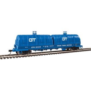 Walthers Proto 50' CUSHION COIL CAR GTW BLUE HO