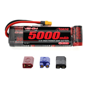 Venom Power 8.4V 5000mah NIMH Stick Uni-plug