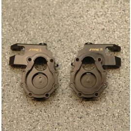 ST Racing Products BRASS FRONT STEERING KNUCKLES