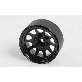 RC4WD 1.9 OEM Stamped Steel Beadlock Wheels Black (4)