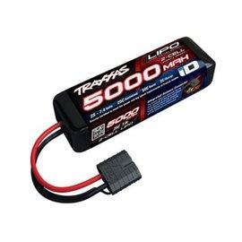 Traxxas 7.4V 5000mah 2S 25C LIPO soft ID CON