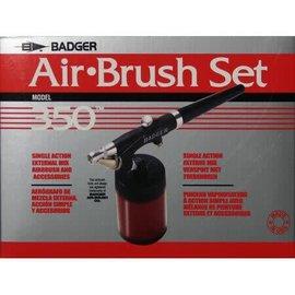 Badger Model 350 Airbrush Set w/ Med Nozzle